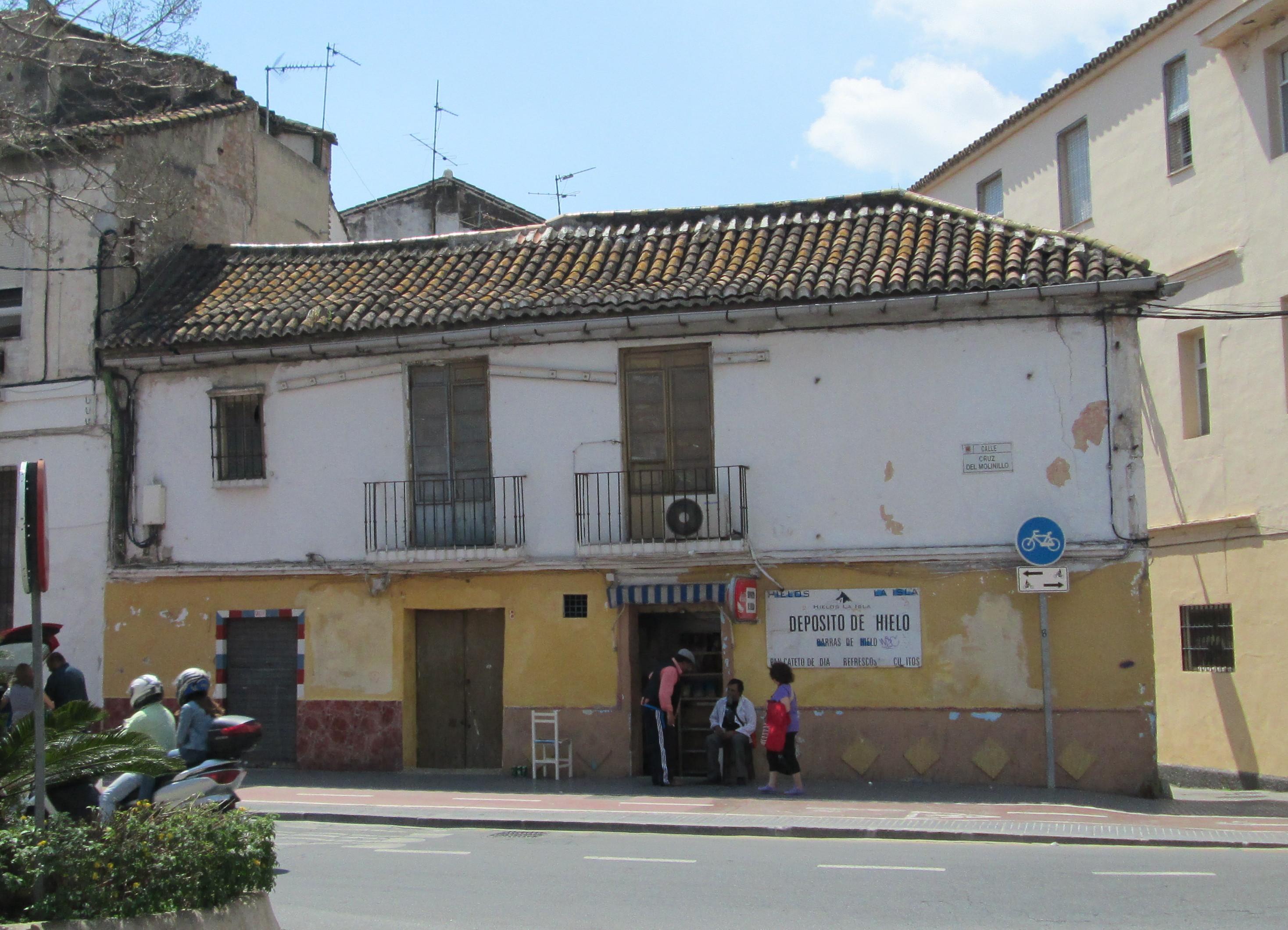 File calle cruz del molinillo 8 m wikimedia for Calle palma del rio malaga