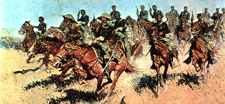 Image result for US cavalry remington