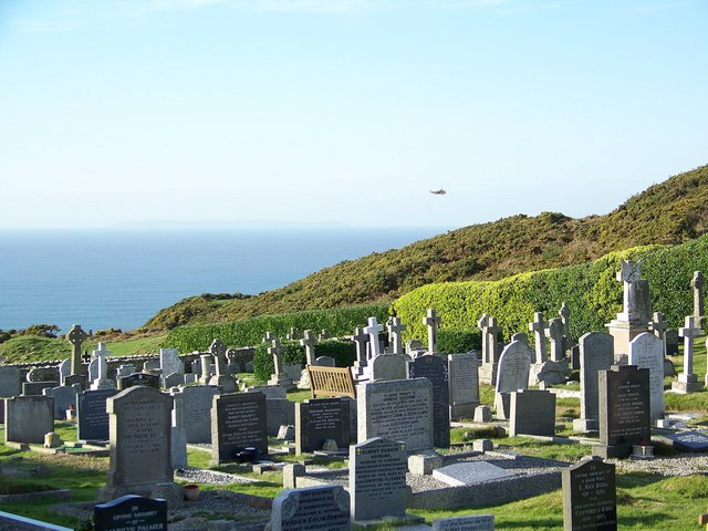 Cemetery, Mortehoe - geograph.org.uk - 632422