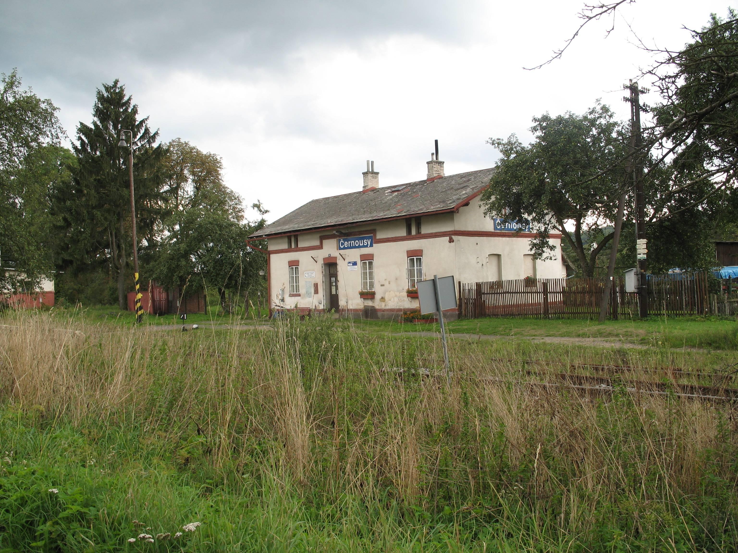 Černousy (železniční zastávka a nákladiště)