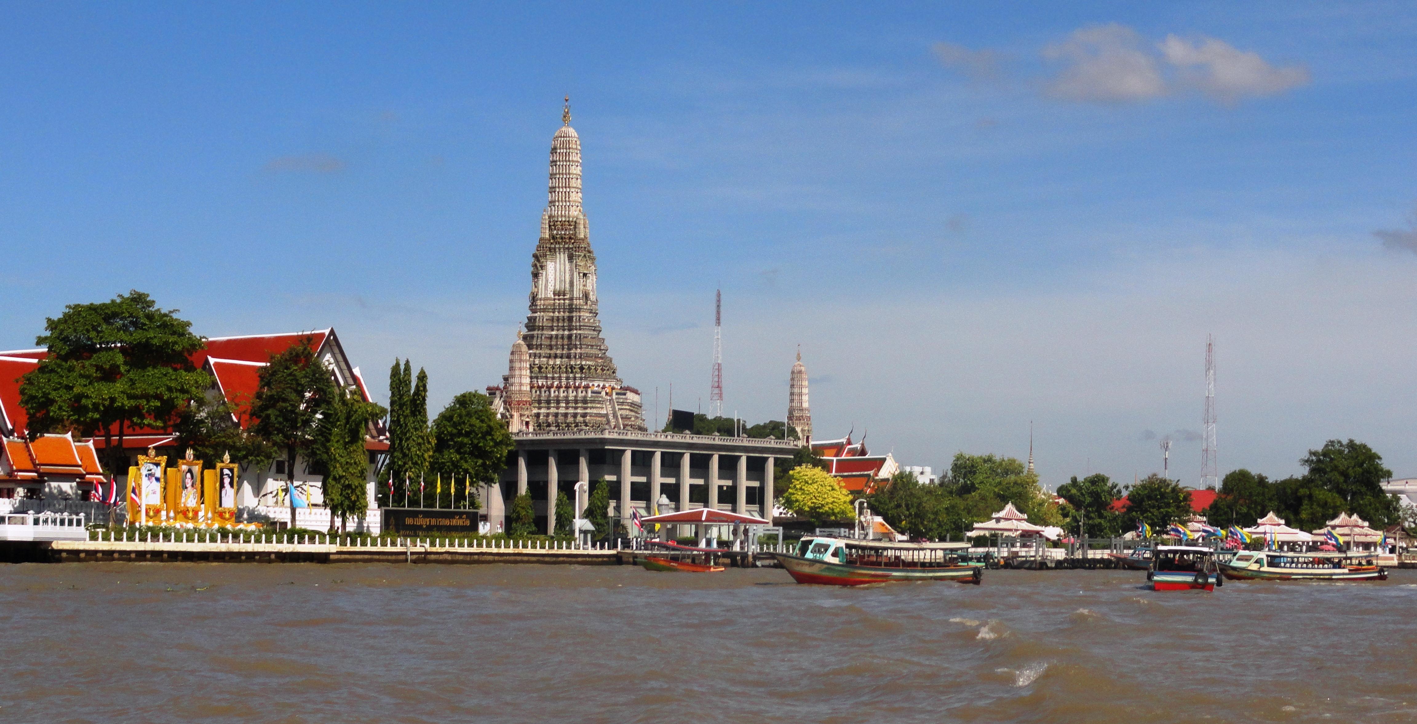 Chao Phraya River Tour Map