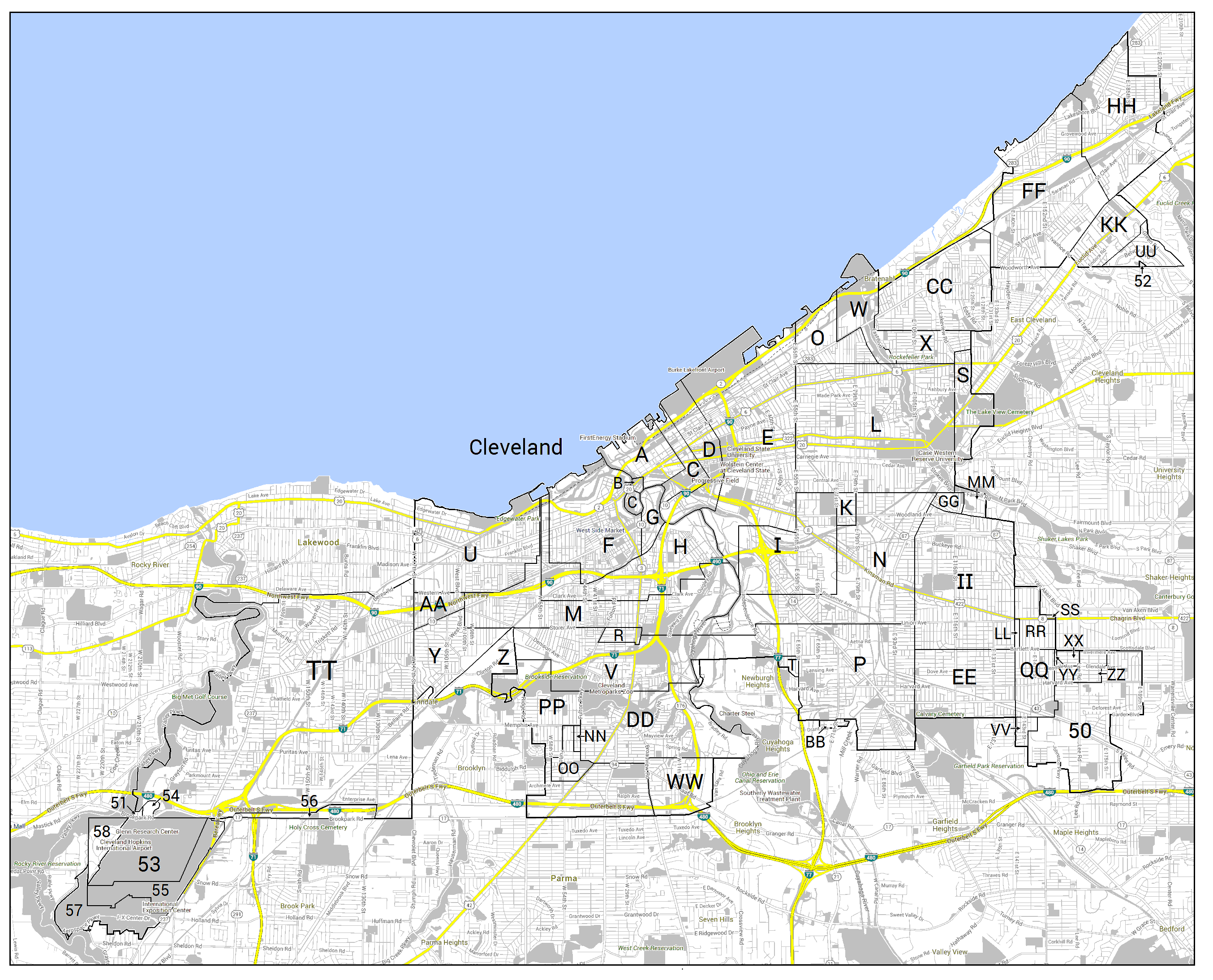filecleveland annexation map color finalpng. filecleveland annexation map color finalpng  wikimedia commons