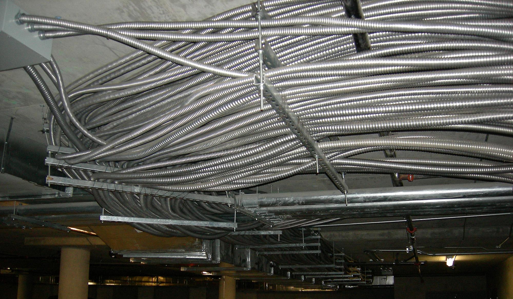 Thread Wiring Recessed Lighting In Basement