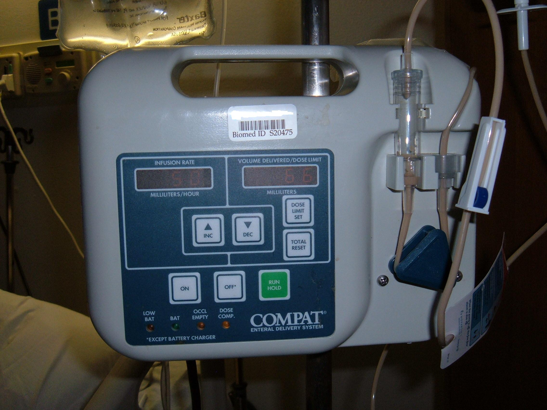 compat enteral delivery system instructions