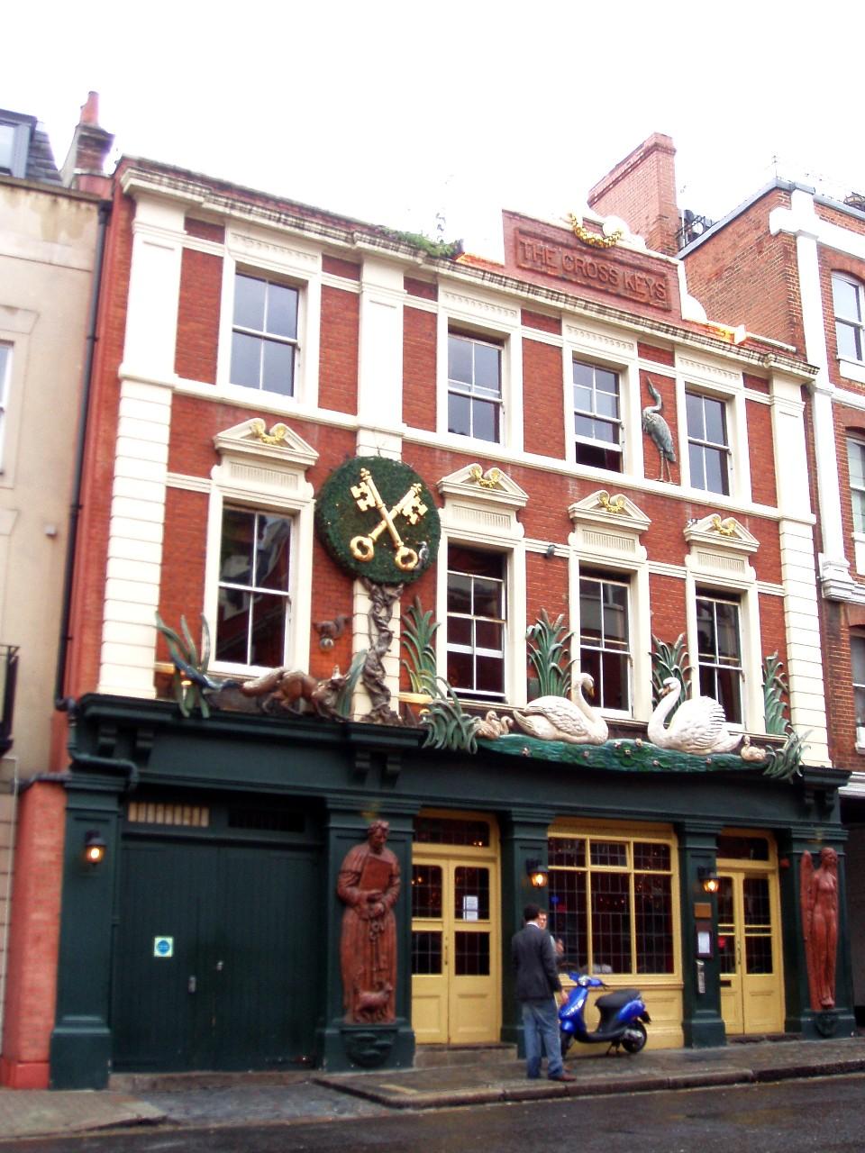 House By Owner >> The Cross Keys, Chelsea - Wikipedia