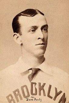 Pitcher Dave Foutz led the AA with 41 wins and a 2.11 ERA.