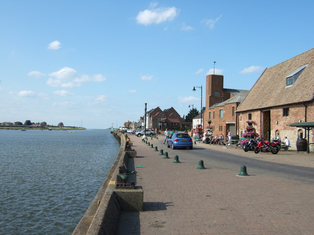 East Quay and Great Ouse, Kings Lynn - geograph.org.uk - 1447351