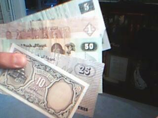 Pieniądze w Egipcie