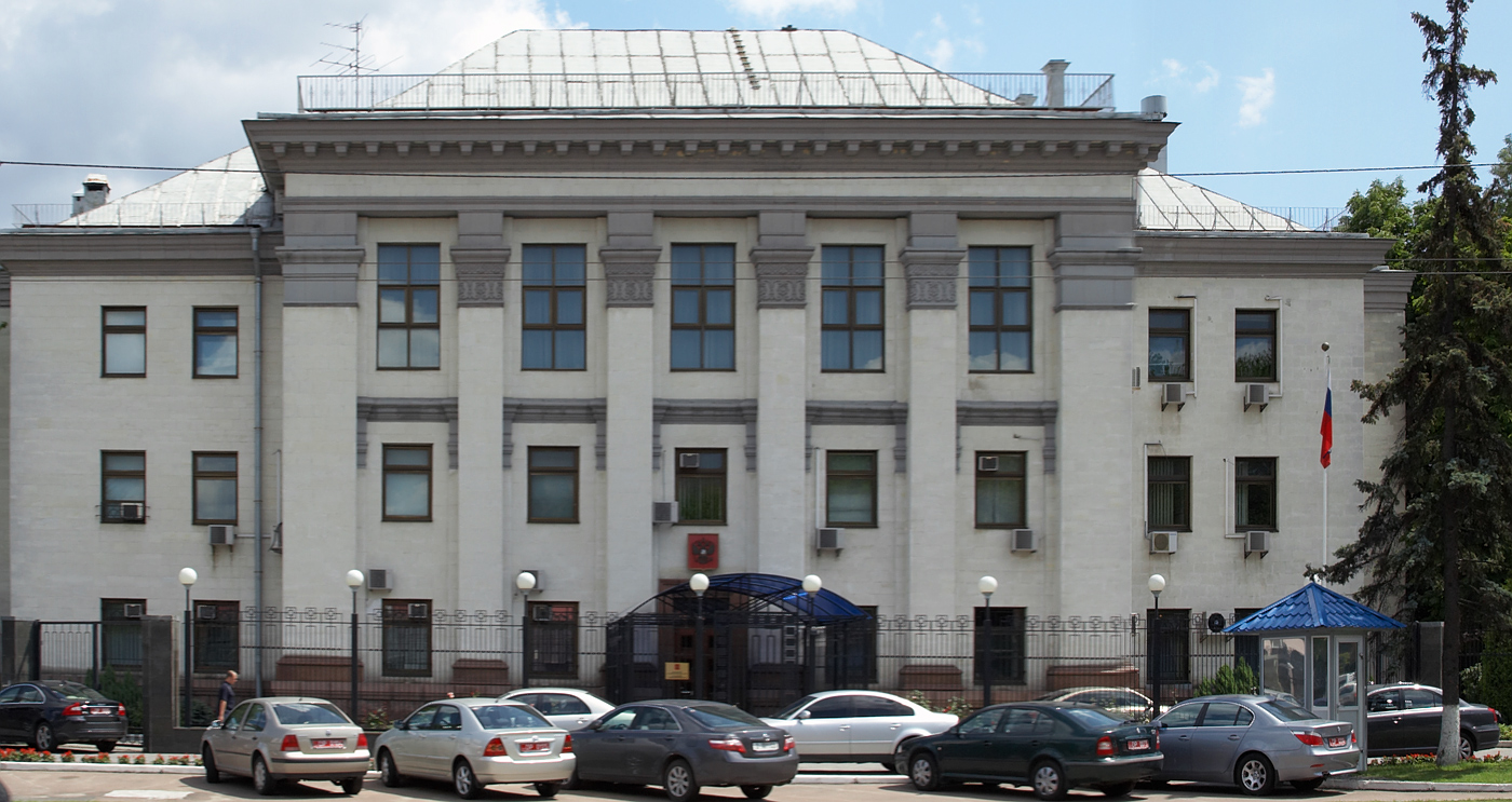 Question interesting, The embassy of the russian afraid