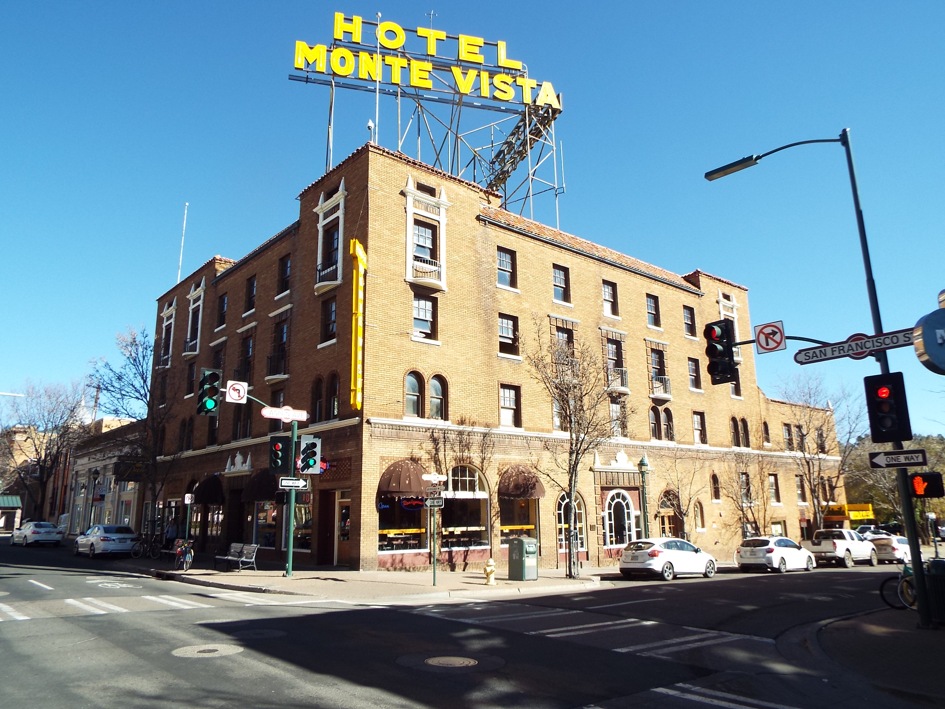 The Monte Vista Hotel List of historic