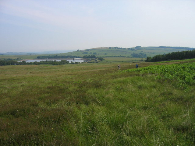 Footpath near Fontburn Reservoir - geograph.org.uk - 196981