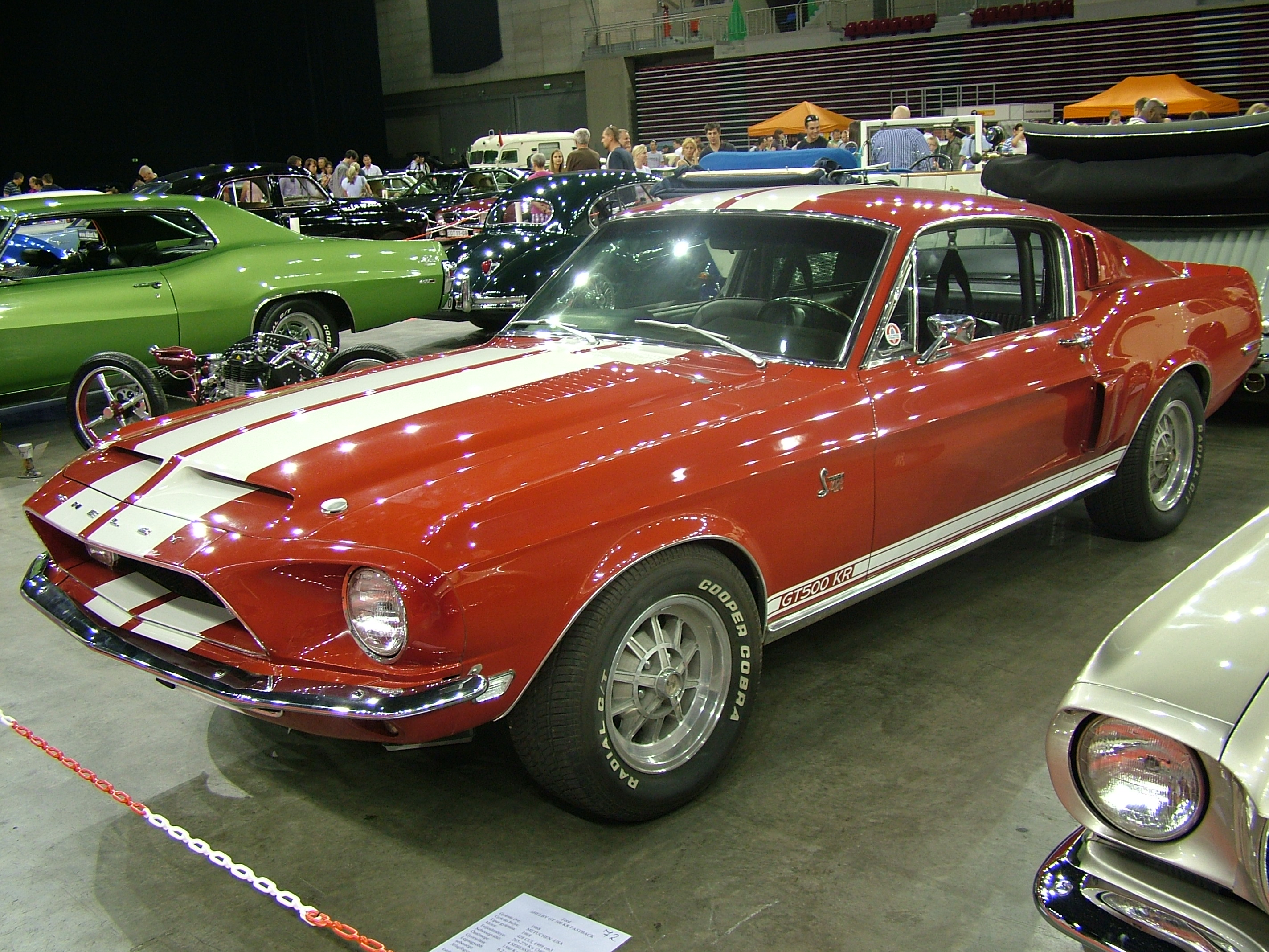 File:Ford Mustang Shelby GT500 KR Fastback, 1968 - Flickr ...