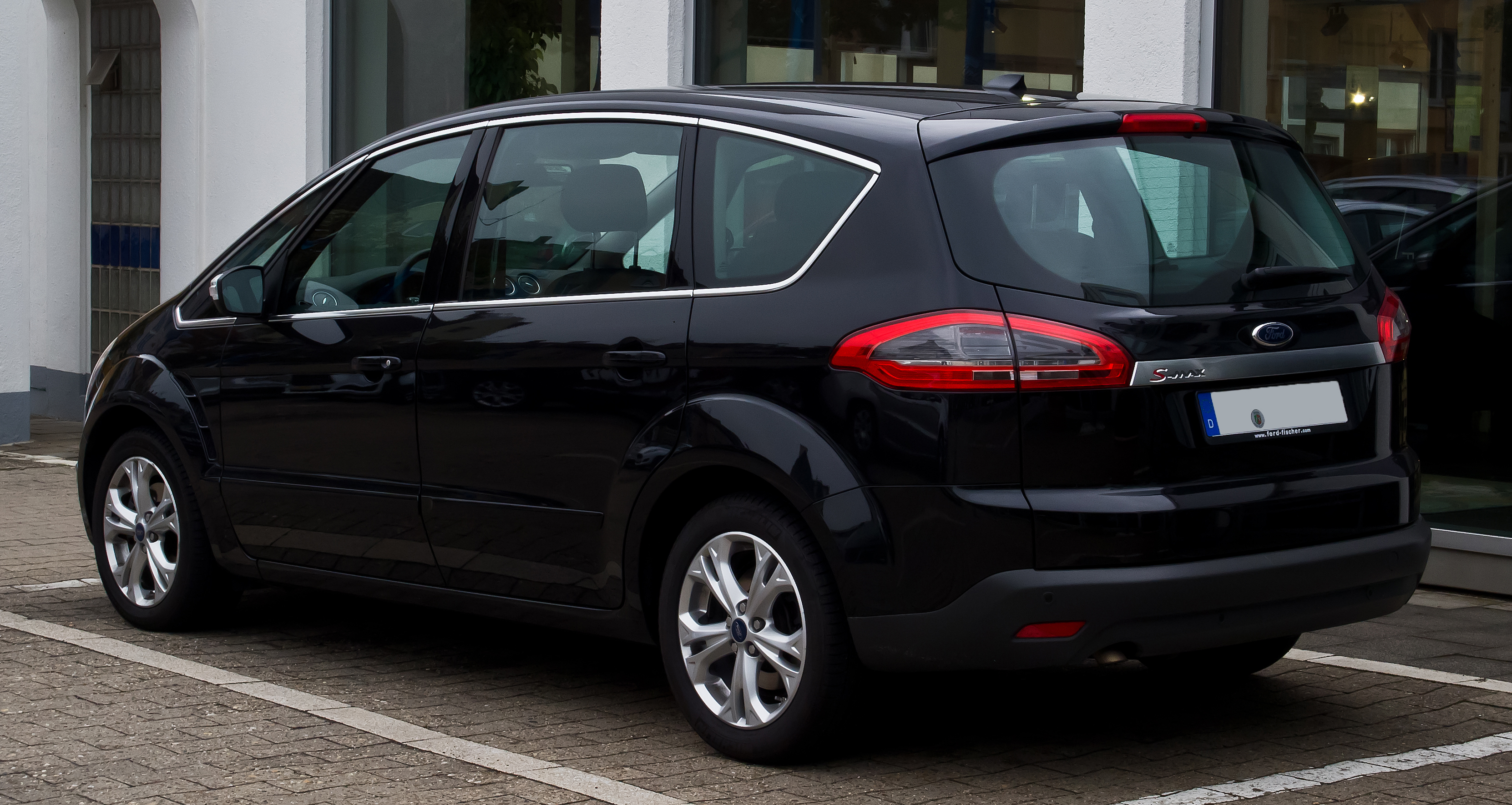 plik ford s max 1 6 ecoboost titanium facelift heckansicht 7 september 2013 m. Black Bedroom Furniture Sets. Home Design Ideas