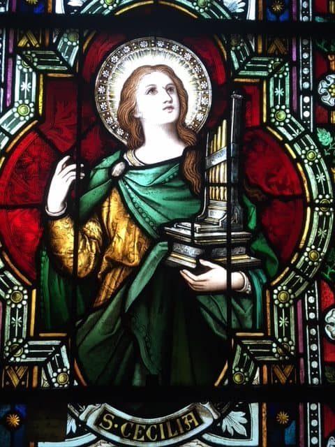 Image result for Free pictures of Saint Cecilia