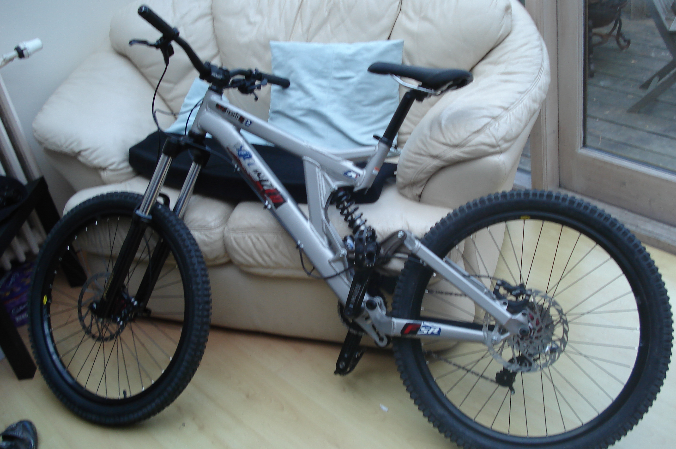Description freeride bike