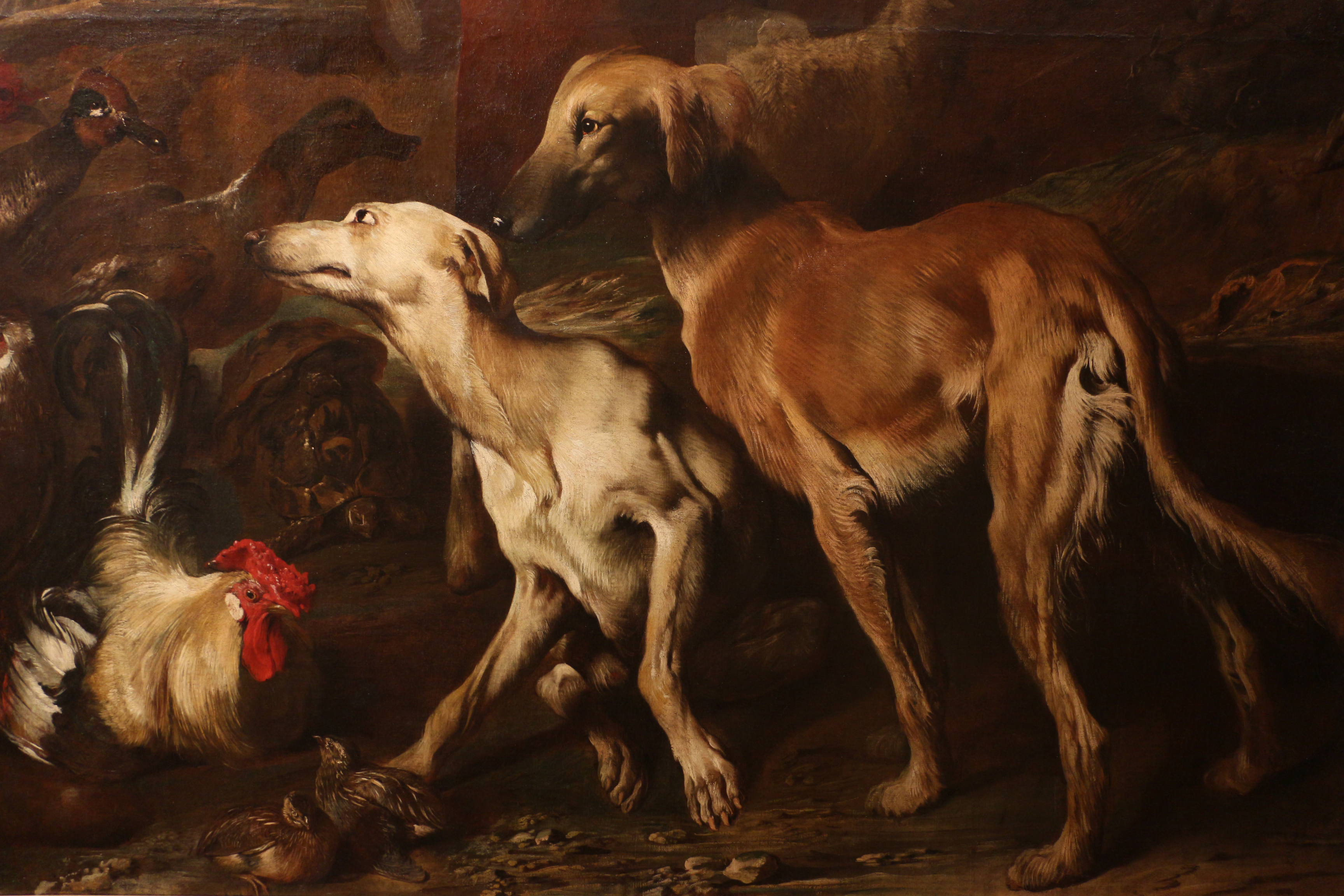 Filegiovanni Benedetto Castiglione Noè E Gli Animali Che Entrano