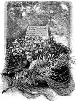 Первоначальный памятник на могиле М. Глинки в Берлине