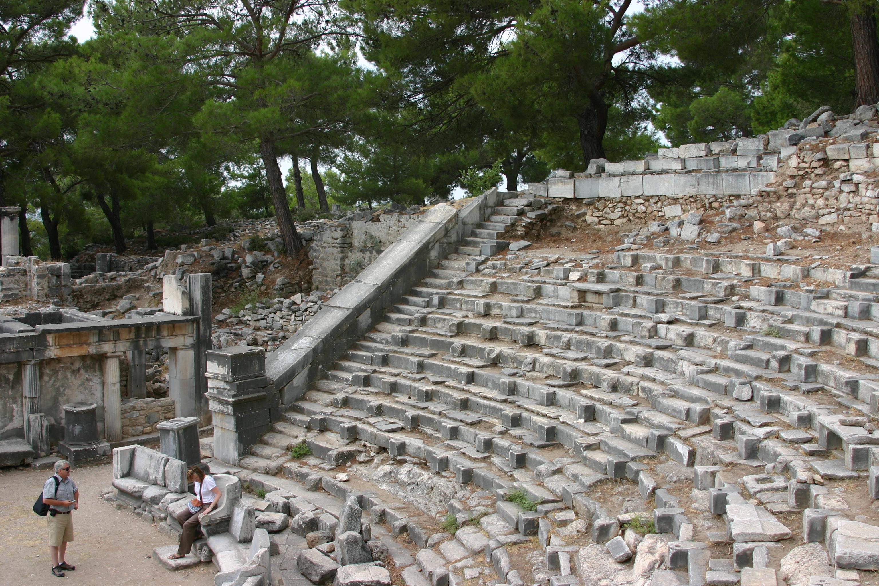 File:Greek theater at Priene (3).jpg - Wikimedia Commons