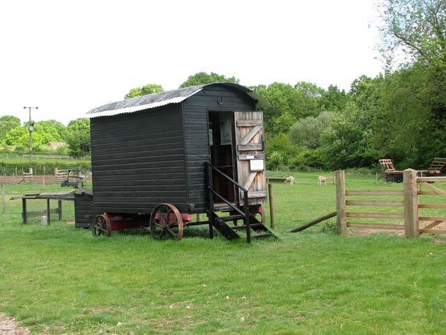 Shepherd S Hut Towed By Car