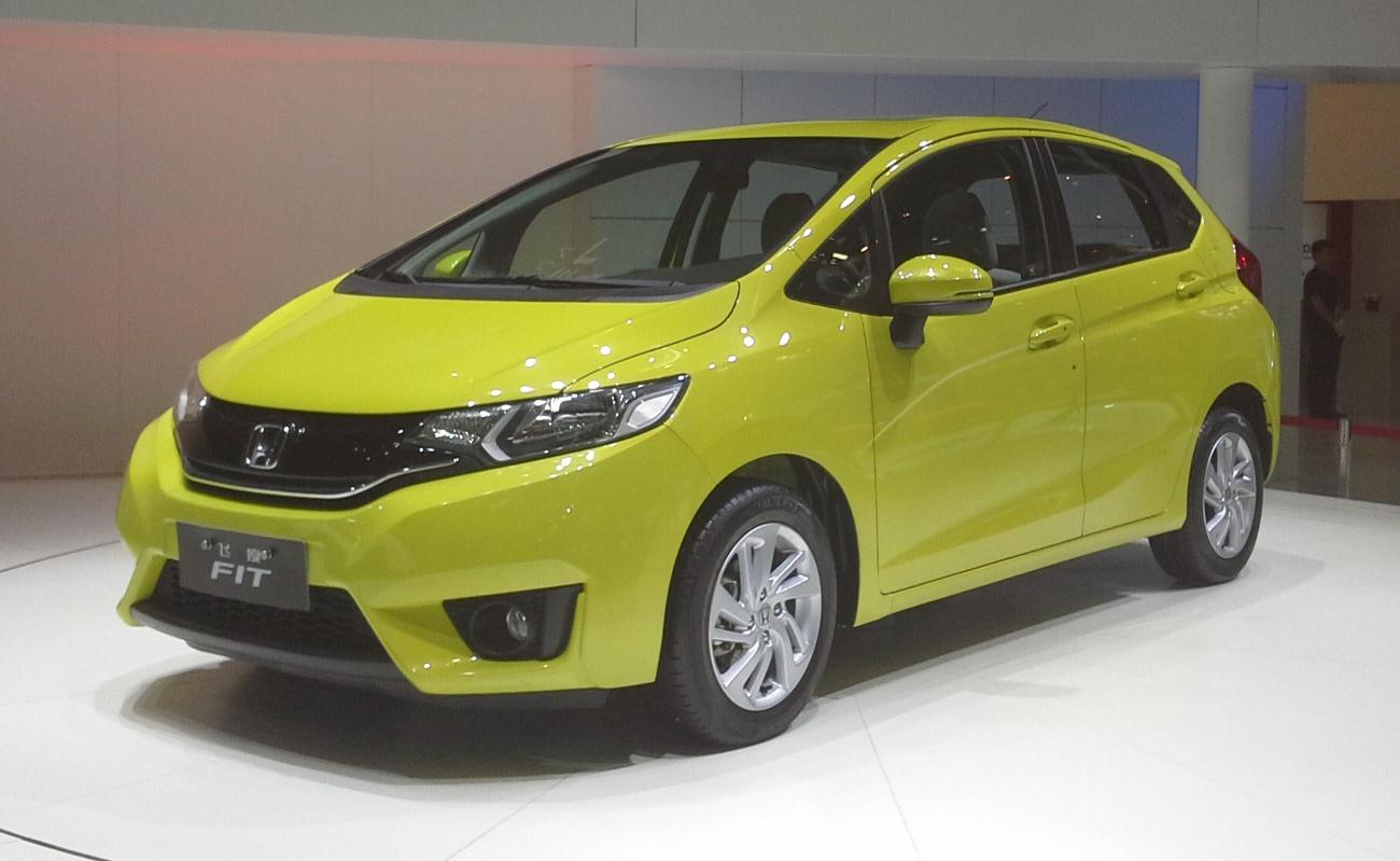 File Honda Fit Gk 01 Auto China 2014 04 23 Jpg Wikimedia Commons
