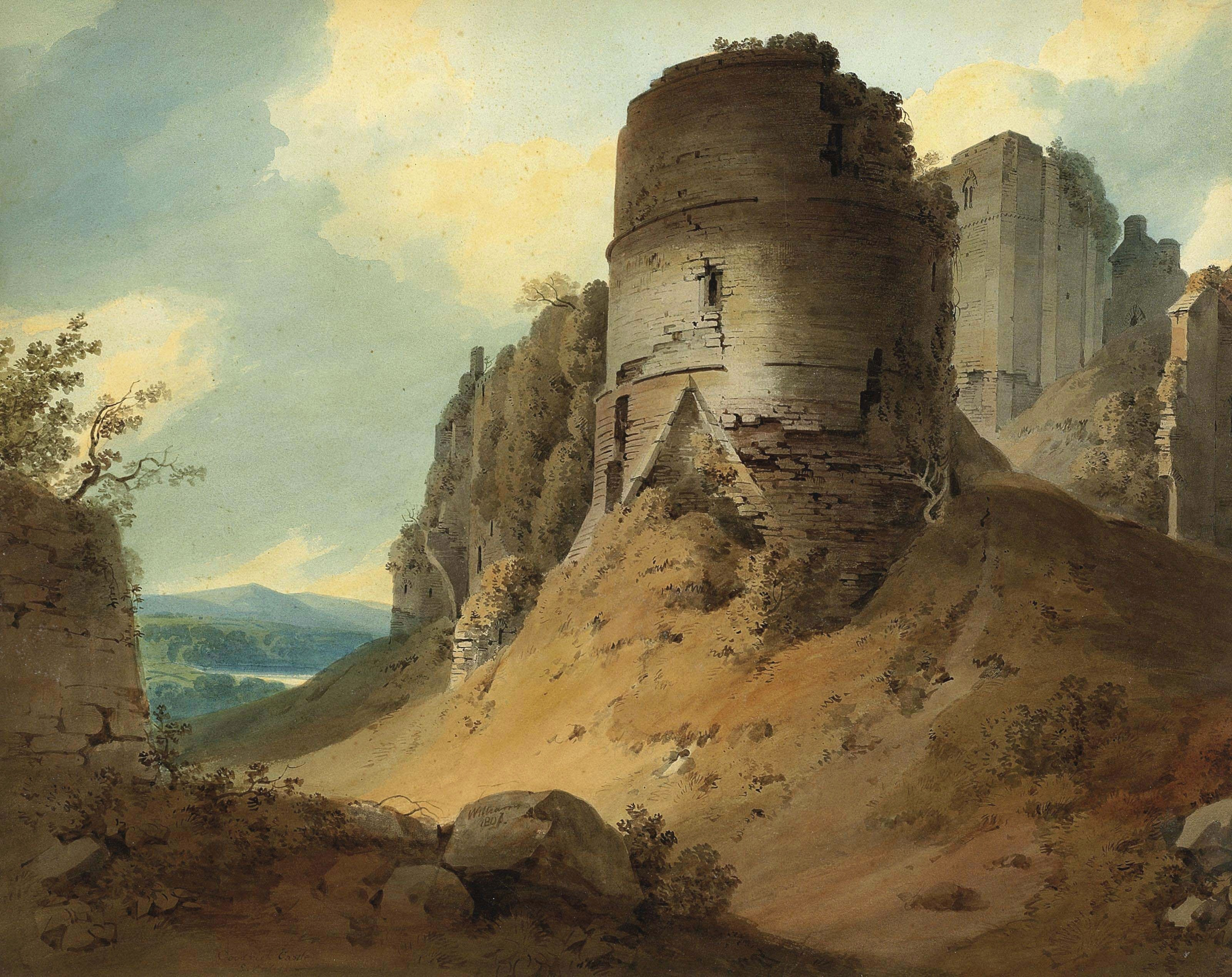 Hugh William Williams - Goodrich Castle