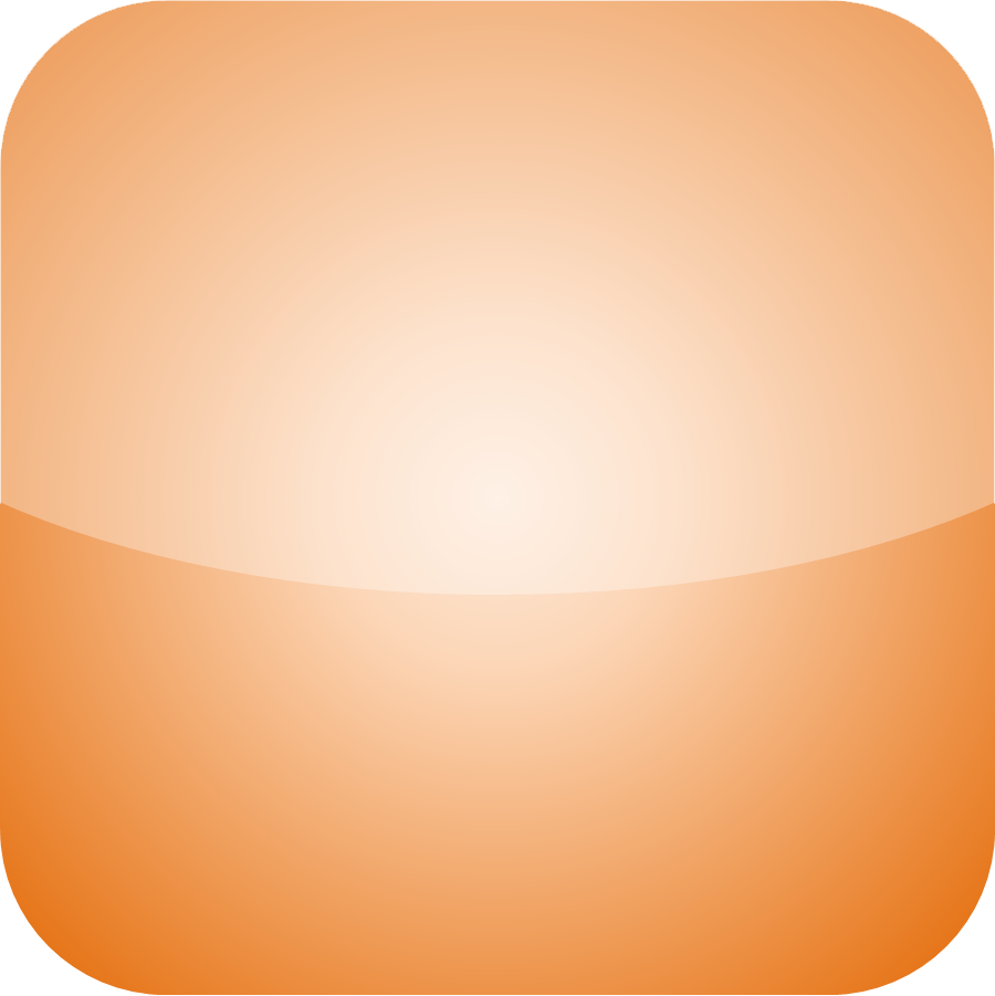 Blank Calendar App Icon : File iphone icon orange wikimedia commons