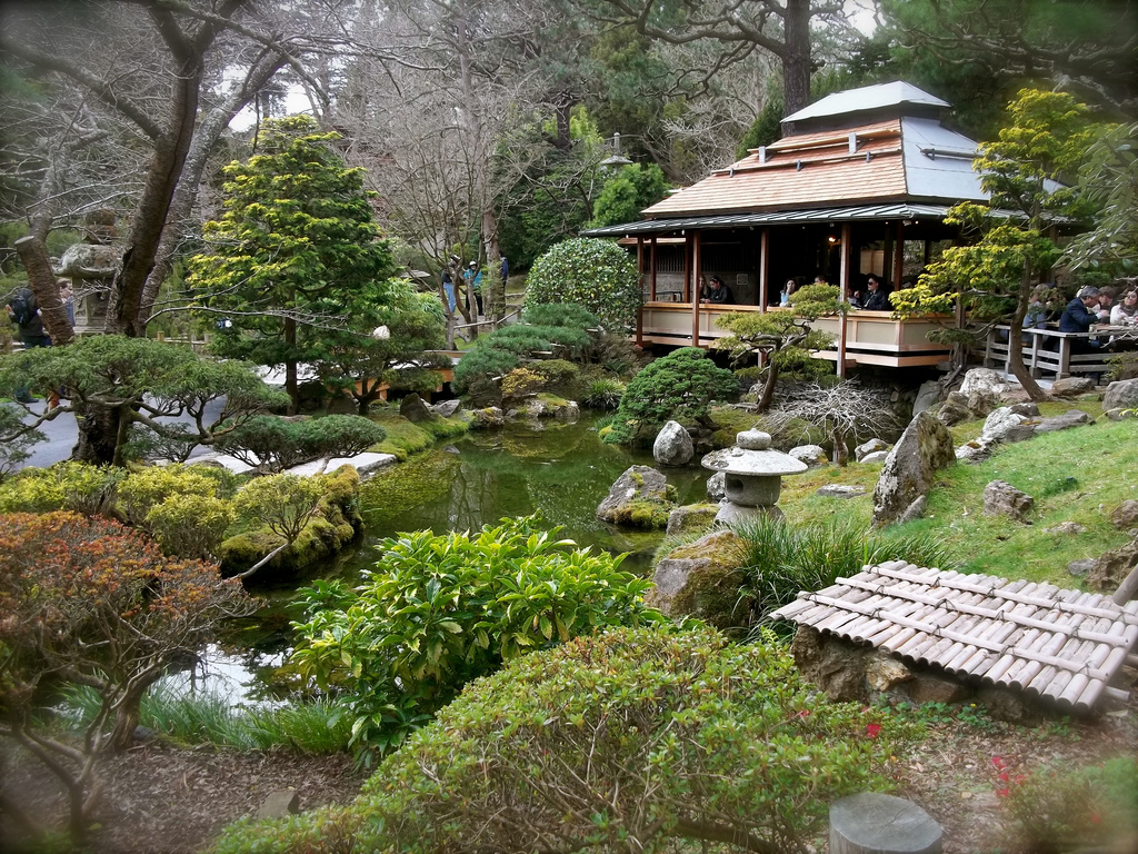 Japanese Gardens Natural Landscaping Gardening And