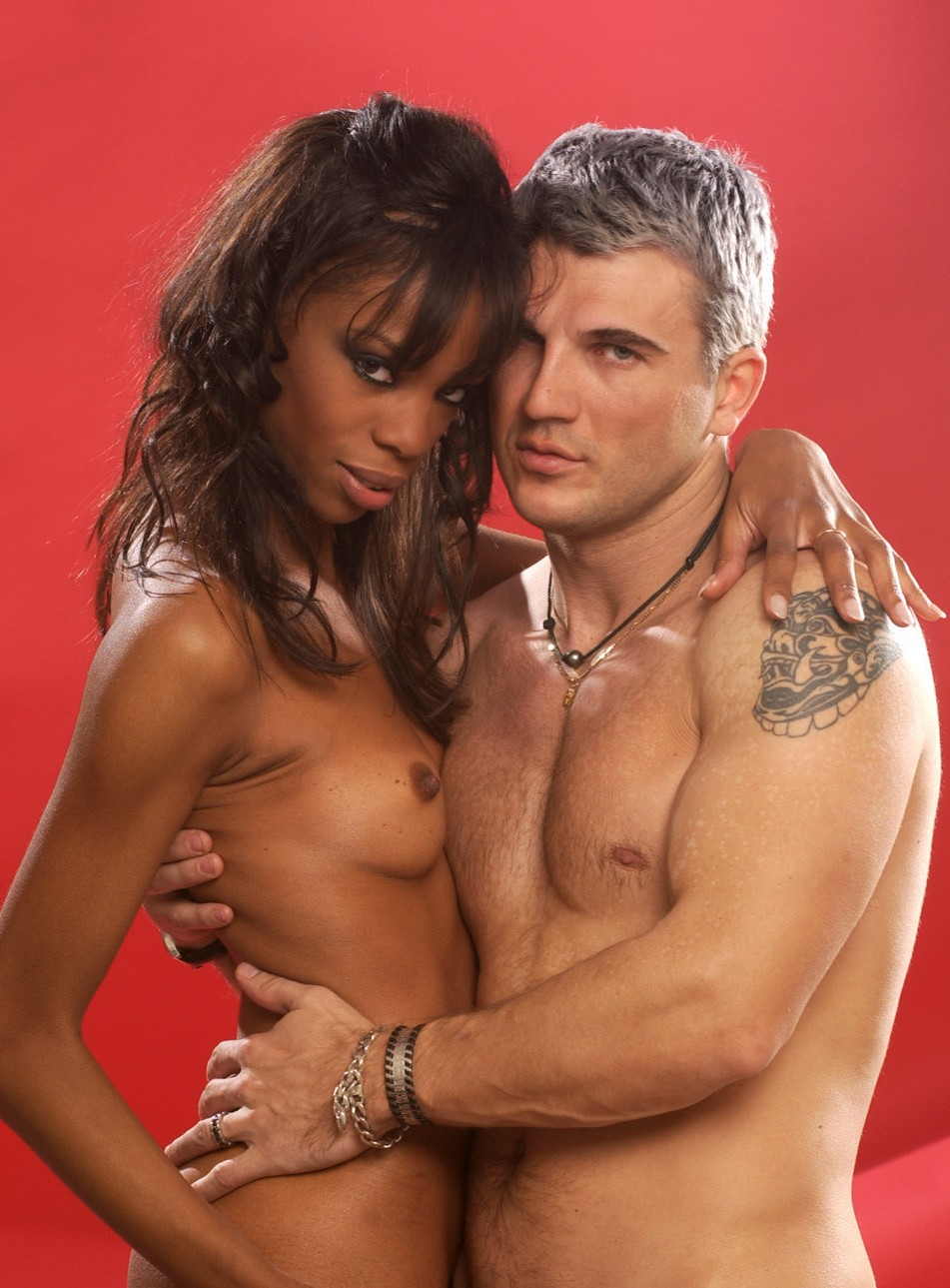 Pornographic actors Jeskaya and Sebastian Barrio.