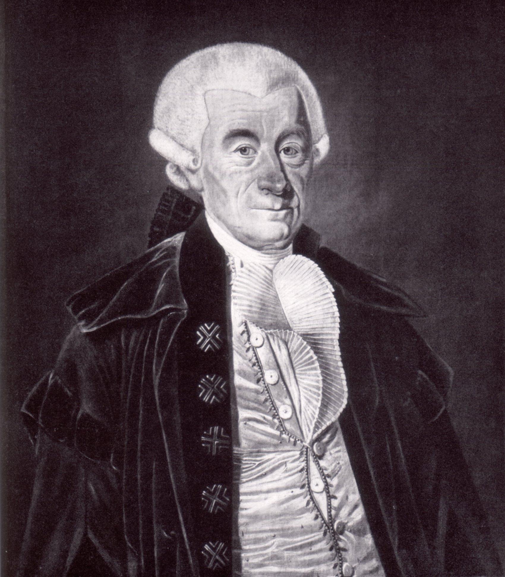 Portrait of Johann Stephan Pütter by CarlLafontaine