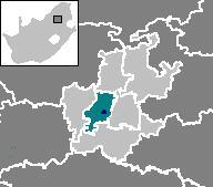 约翰内斯堡位置图