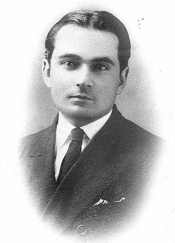 Jorge Basadre in 1924.