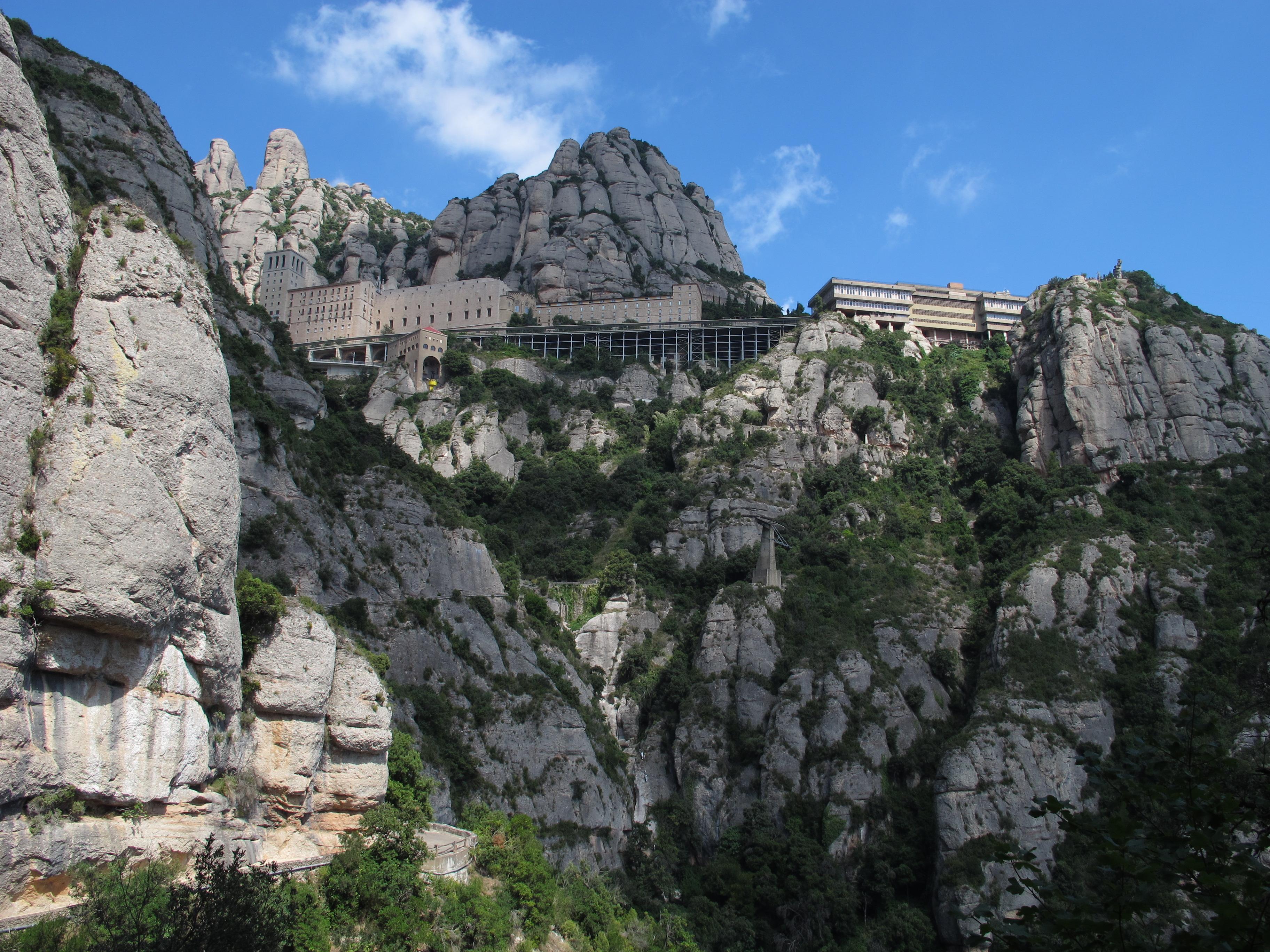 montserrat kloster spanien
