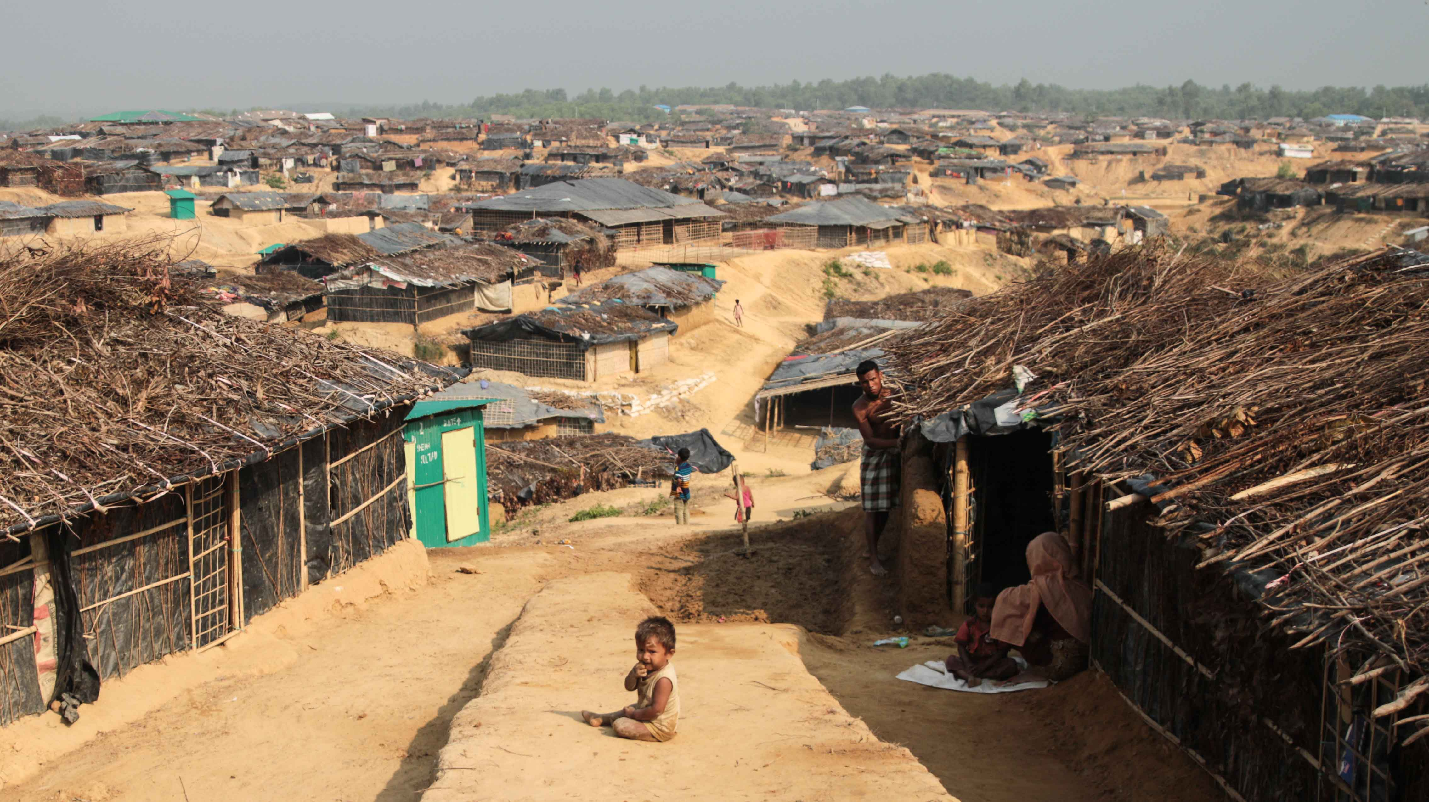 ООН: +11,400 Мусульман Рохинья бежали из Мьянмы в 2018 году