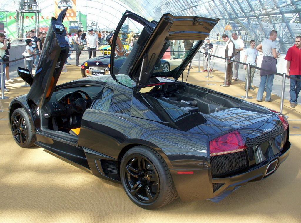 File Lamborghini Murcielago Lp640 Heck Jpg Wikimedia Commons