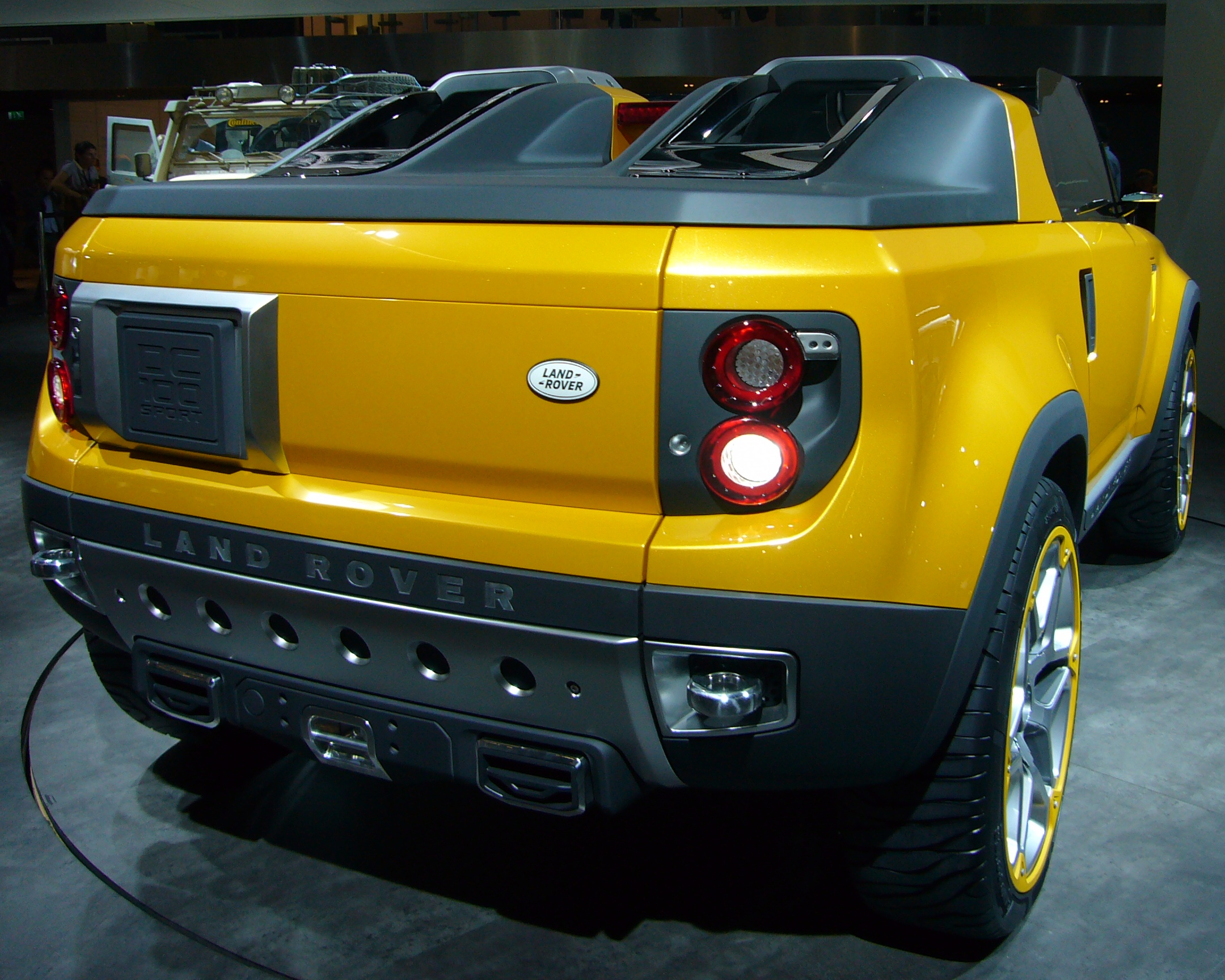Land Rover DC100 - Wikipedia, the free encyclopedia - HD Wallpapers