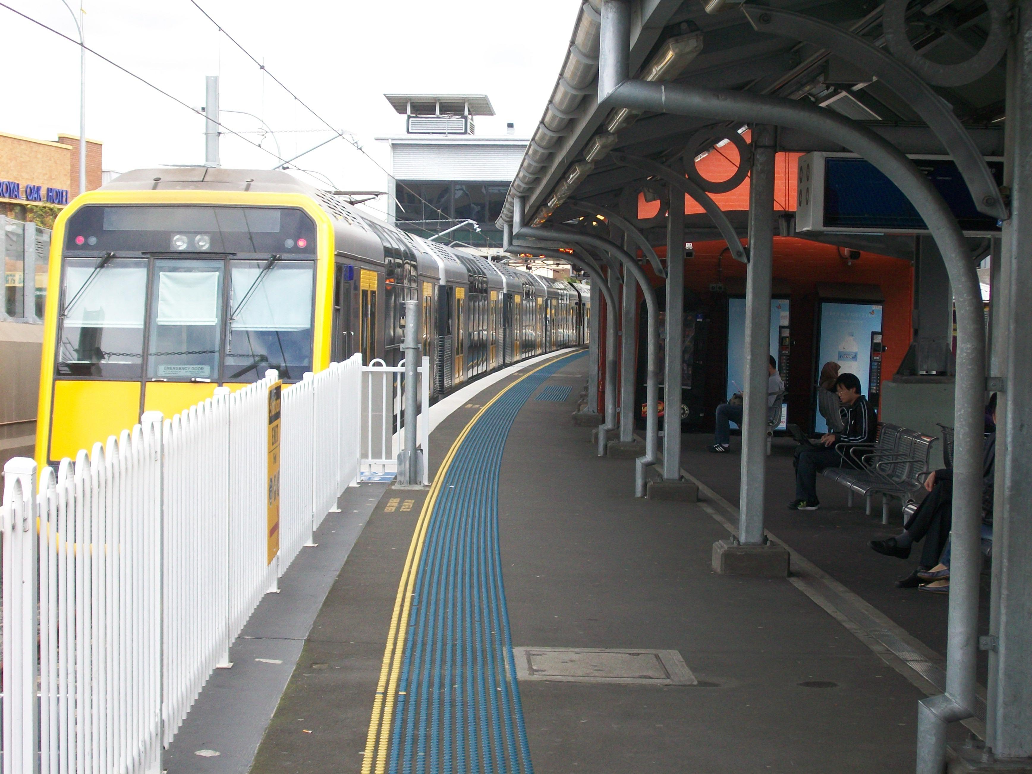 Lidcombe Station Upgrade Lacks Inner ...