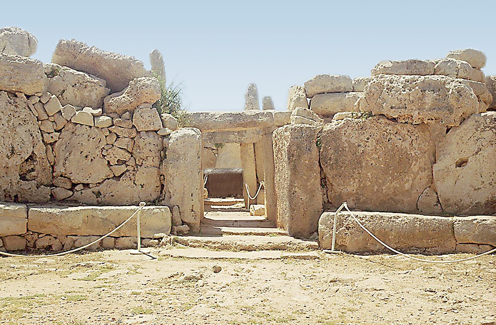 Temples mégalithiques de hagar Qim et Mnajdra