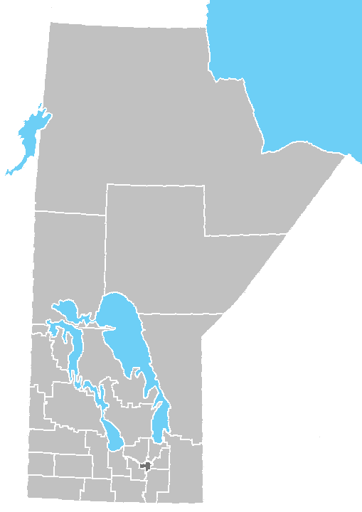Manatoba Canada County Map List of regions of Manitoba   Wikipedia