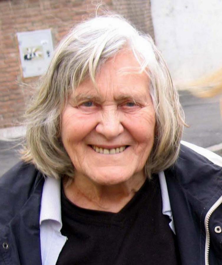 Margherita Hack a Roma nel 2007, foto di Rosalba Sgroia (Pubblico Dominio)