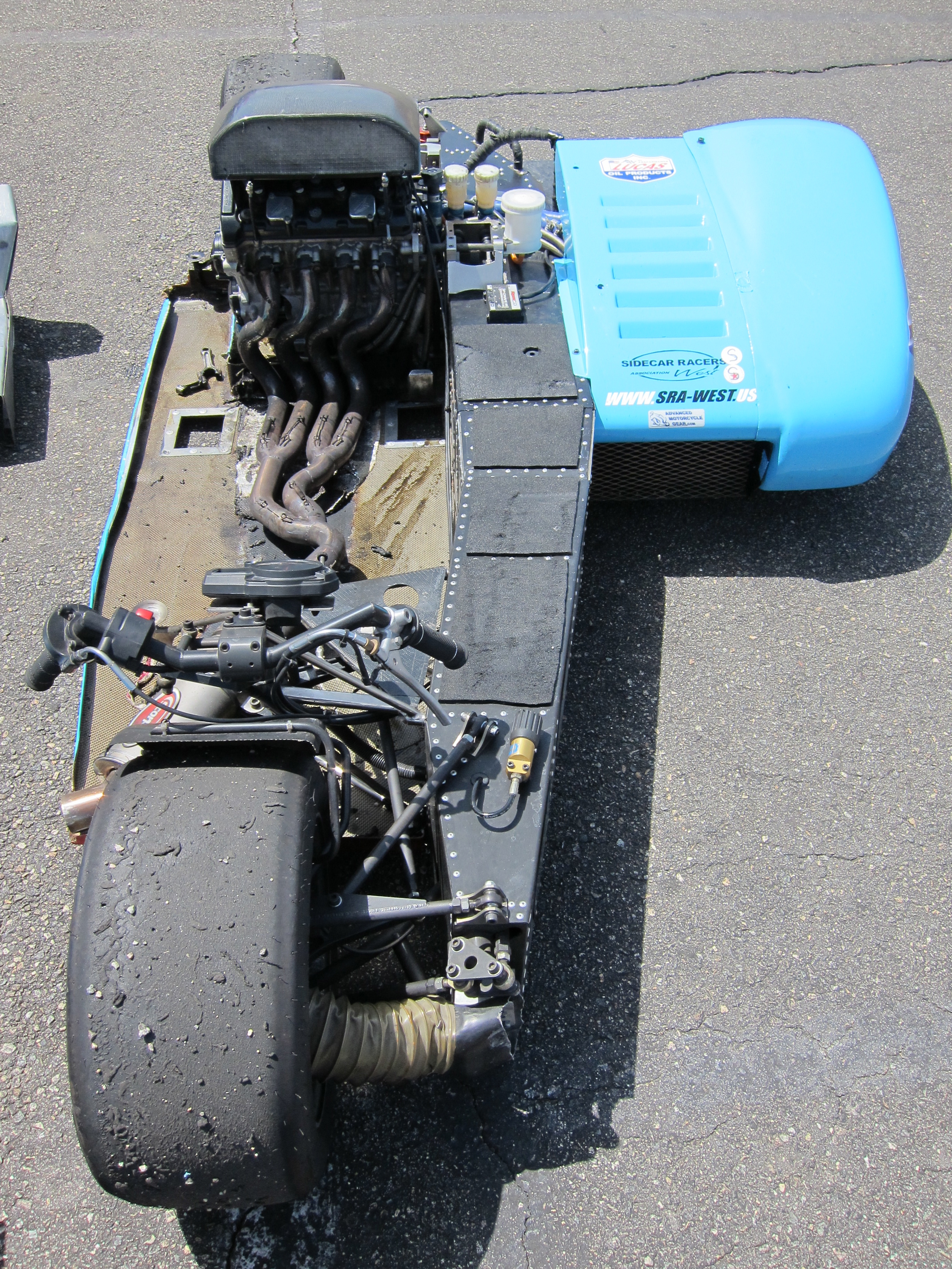 File:Modern racing sidecar (without fairing) jpg - Wikimedia