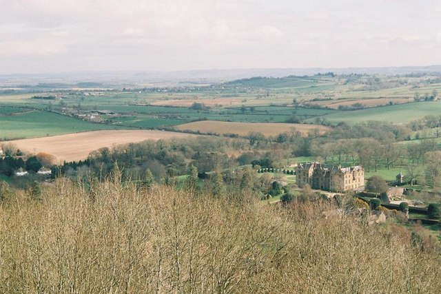 Montacute, view from St. Michael's Hill tower - geograph.org.uk - 1112446