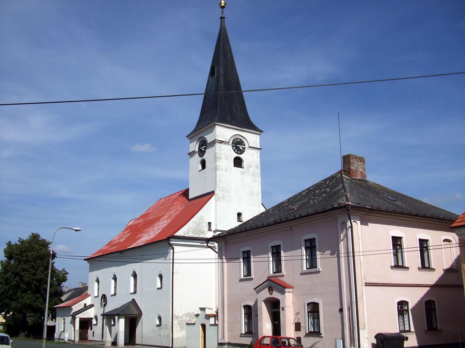 kostel sv. Vavřince v Mrákově