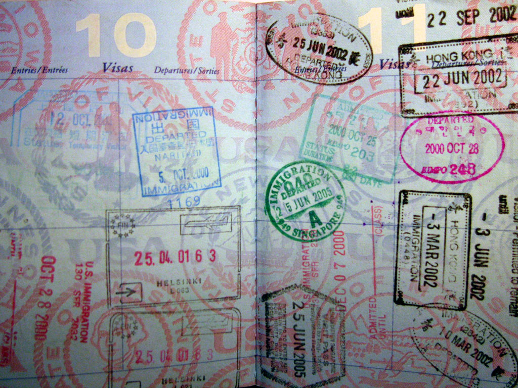 Passports should be photocopied and scanned