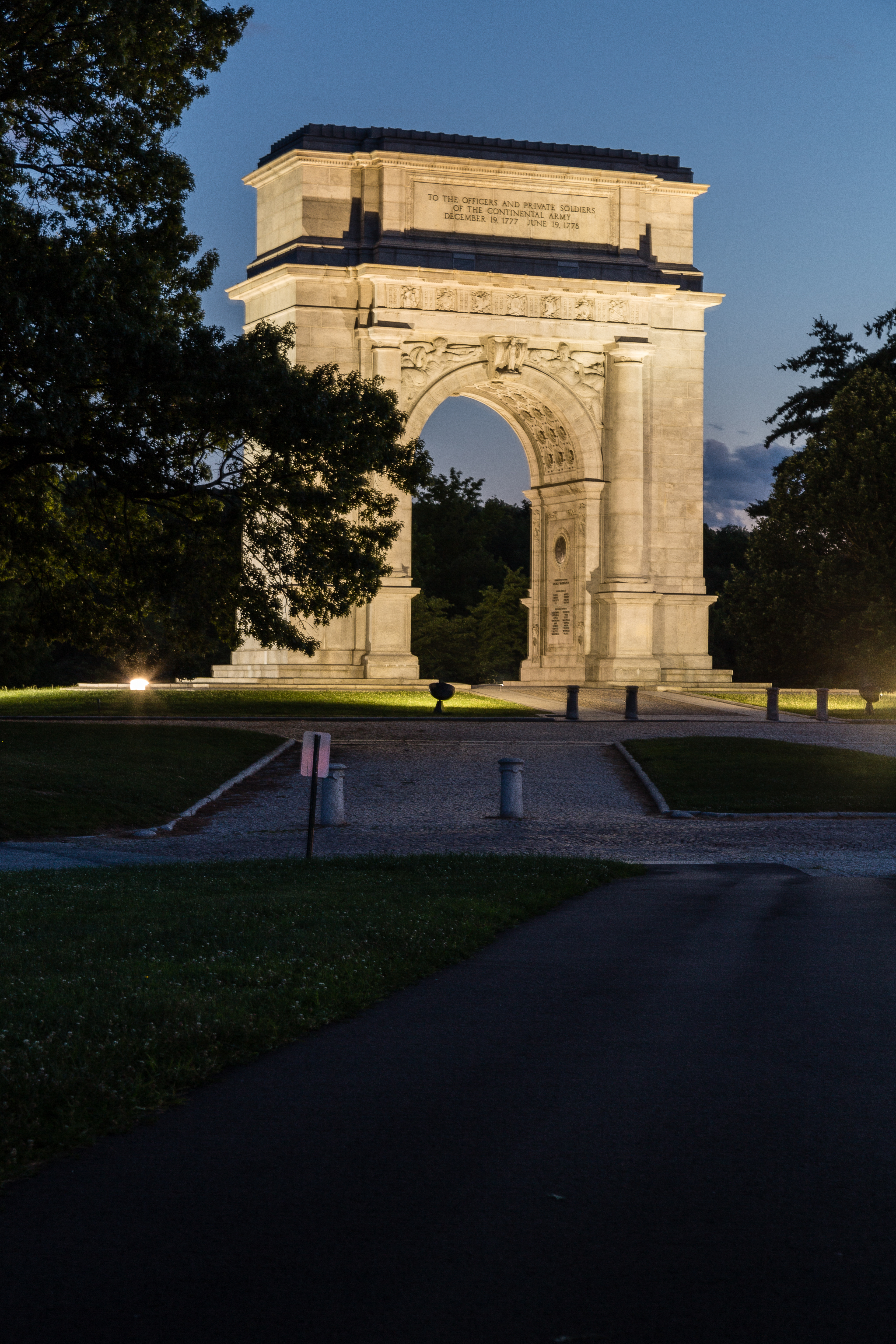 File National Memorial Arch At Valley Forge National