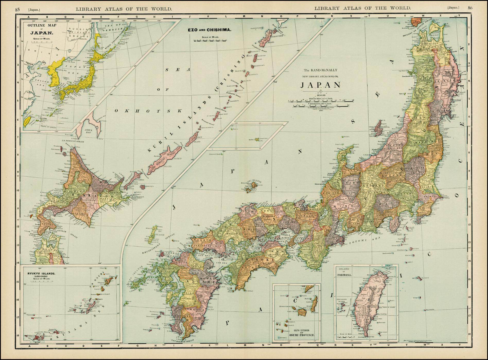 FileNew Library Atlas Map Of Japanjpg Wikimedia Commons - Japan map 2014