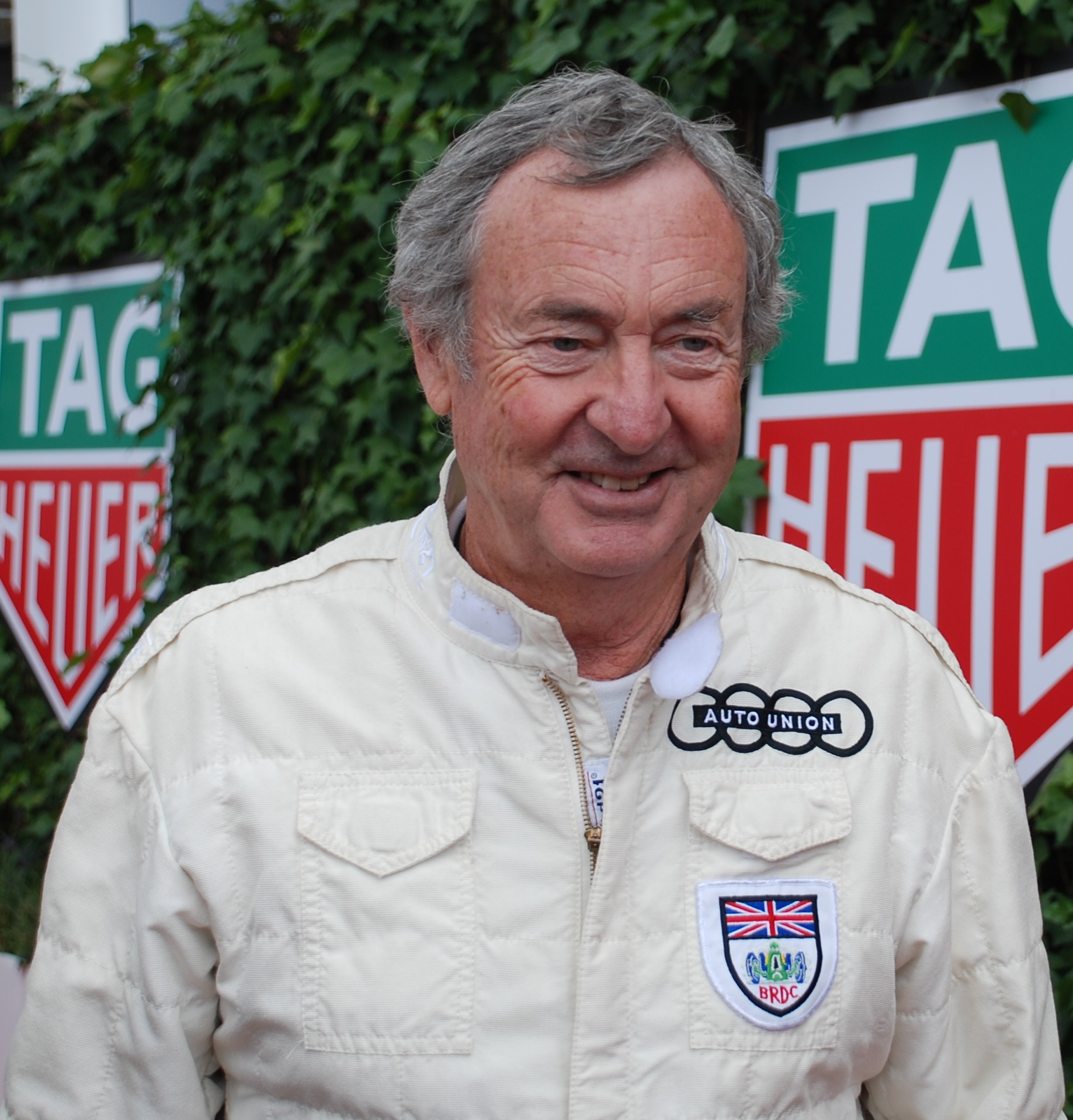 The 74-year old son of father (?) and mother(?) Nick Mason in 2018 photo. Nick Mason earned a  million dollar salary - leaving the net worth at 100 million in 2018