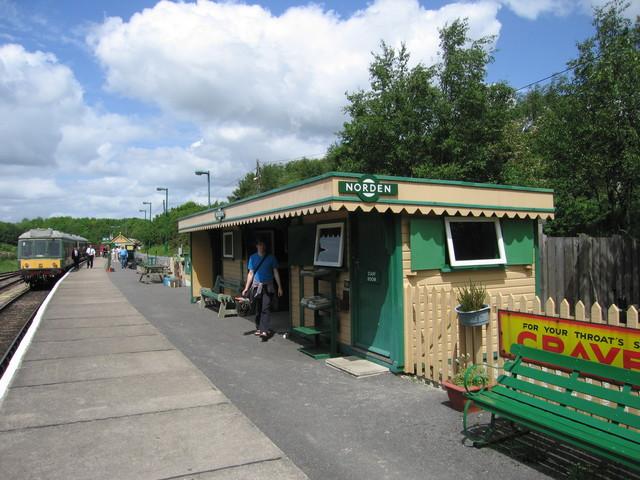 Norden railway station (England)