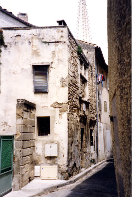 Nostradamus birth place before recent renovations at 13210-Saint-Remy-de-Provence, France