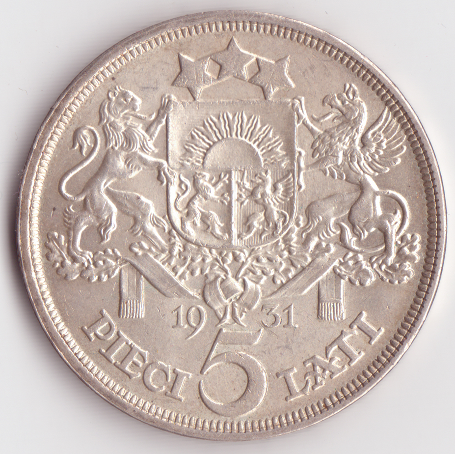 5 Lats Coin Wikipedia