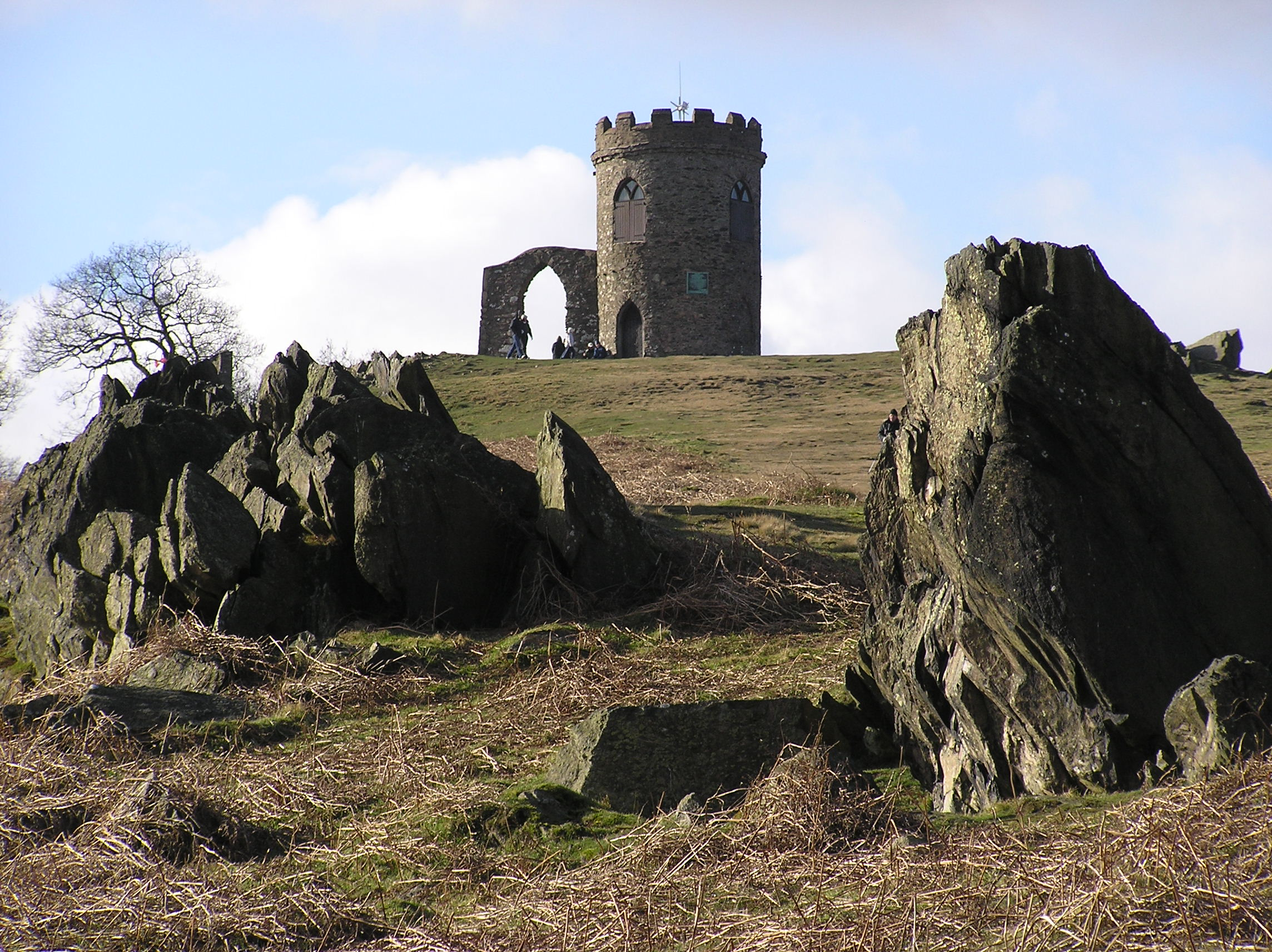 Image result for leicester park folly on hill